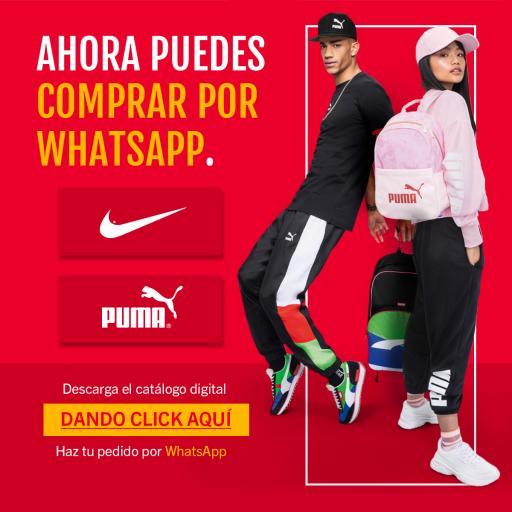 Catálogo Puma y Nike