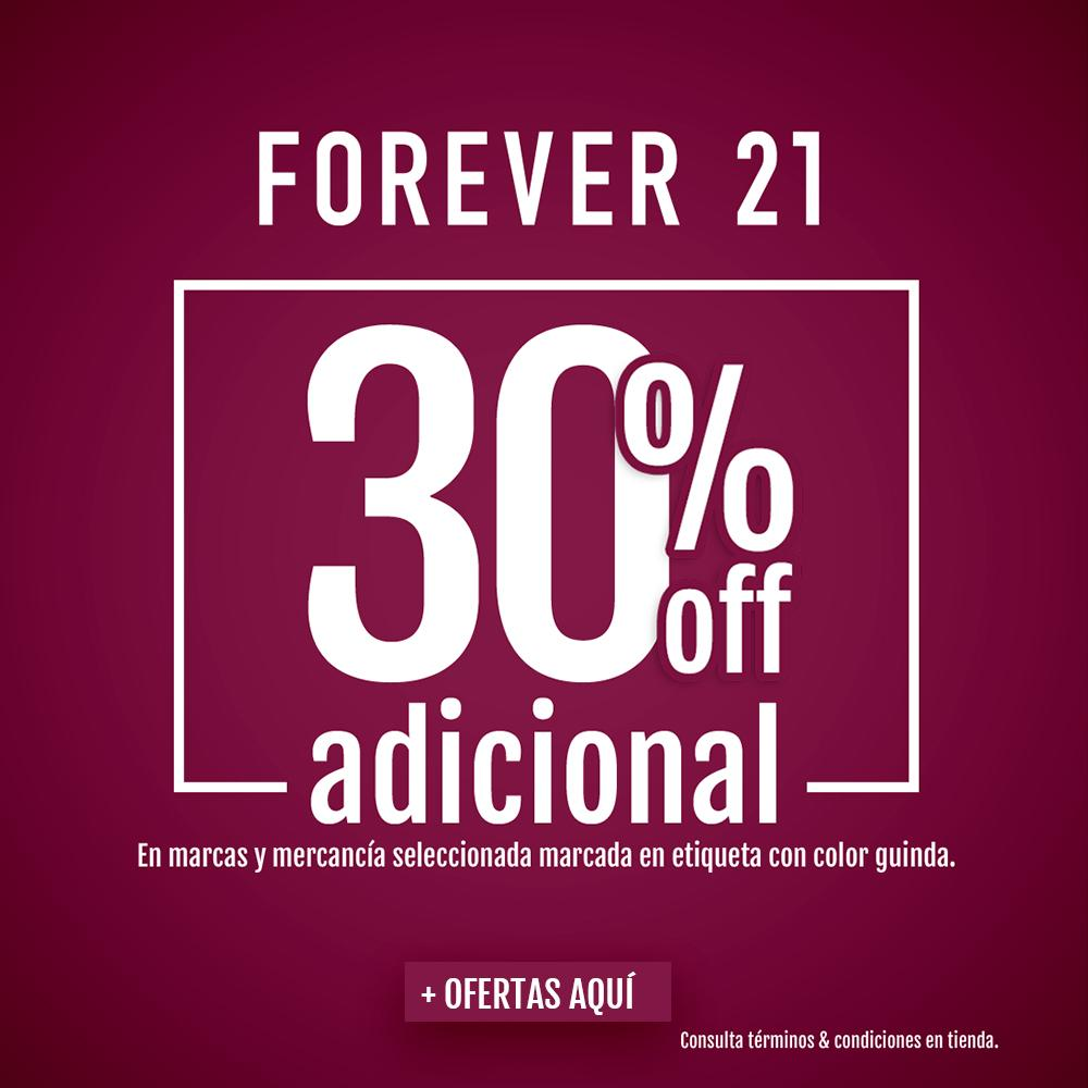 forever 21 guinda