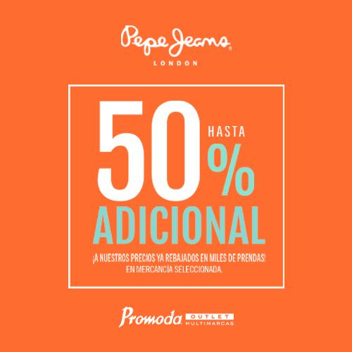 Pepe Jeans 50%