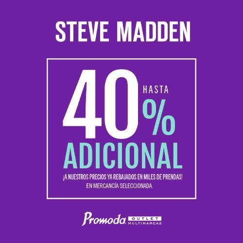 Steve Madden 40%